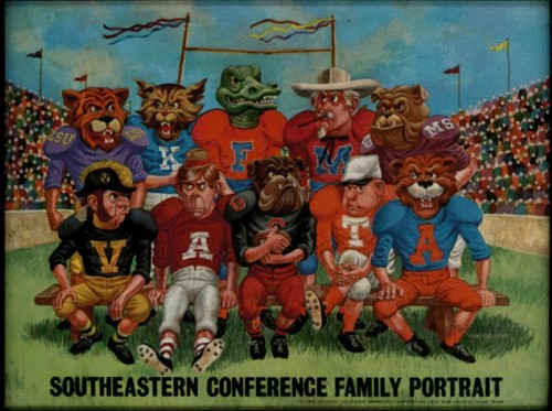 SEC Family Portrait. Will A&M be drawn in?
