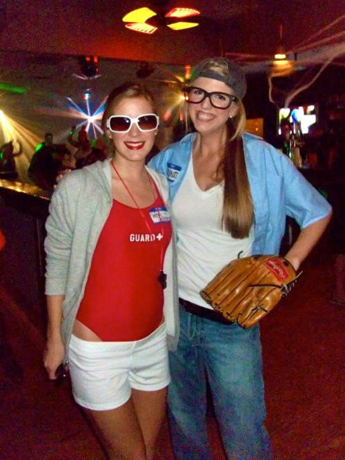 Wendy Peffercorn and Squints from The Sandlot.