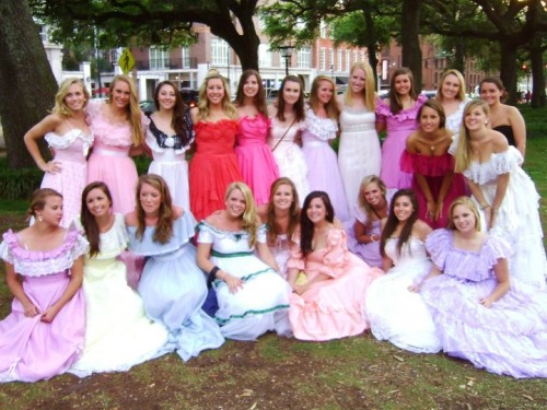 Old South. TFM. Southern Belles. TSM.