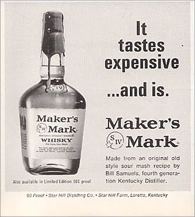 Maker's Mark telling it how it is in 1966. TFM.