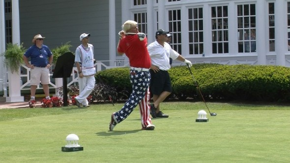 July 4th John Daly at The Greenbrier. TFM.