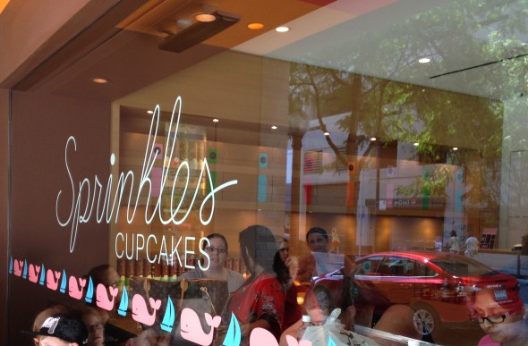 The Sprinkles bakery in Chicago. TSM.