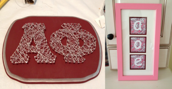 Perfectly executing Pinterest crafts. TSM.