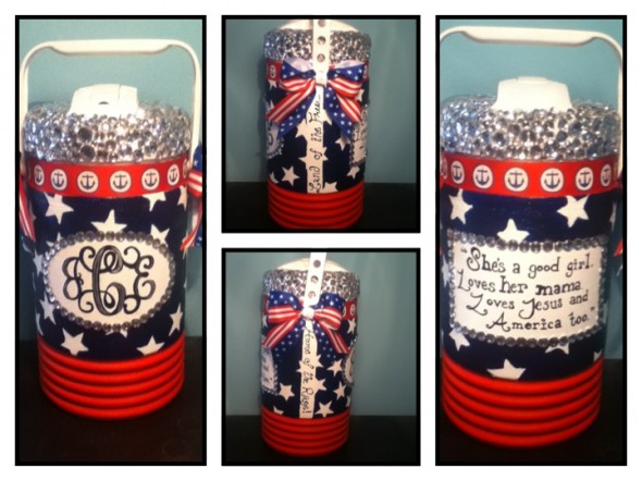 Crafting for America even after the 4th of July. TSM.