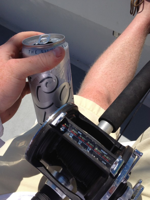 Catchin' silvers with a silver in hand. TFM.