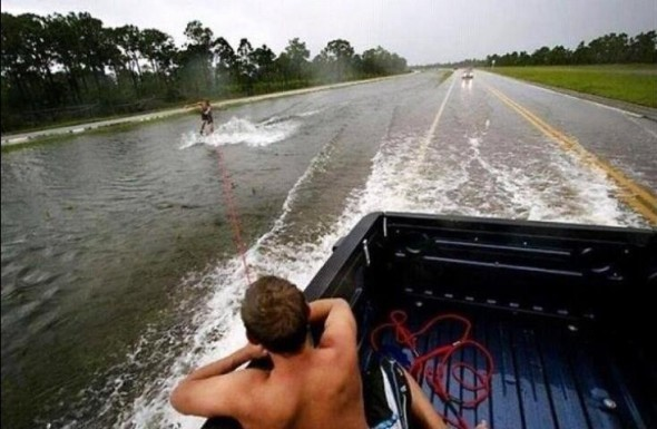 Riding out the hurricane. TFM.