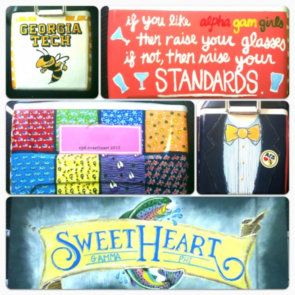 Making your sorority sweetheart a cooler worthy of how amazing he is! TSM.