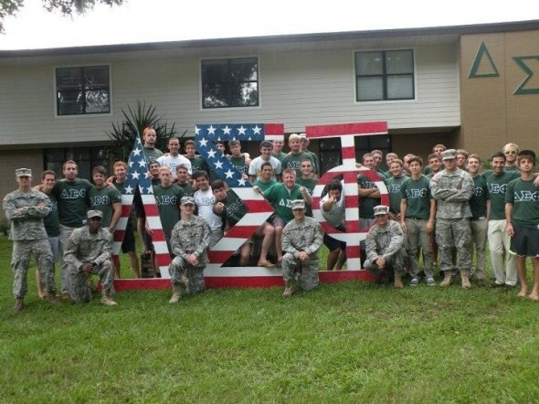 Representing America, and fighting for it. TFM.