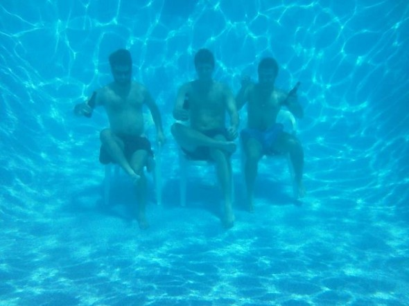 Taking the party underwater. TFM.