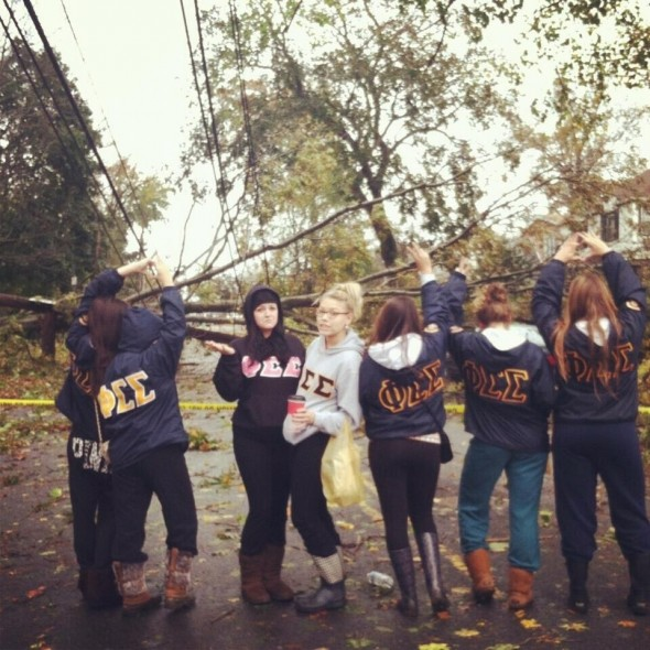 Phi Sig survived Sandy. TSM.
