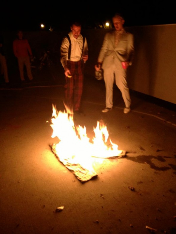 Burning cargo pants. TFM.