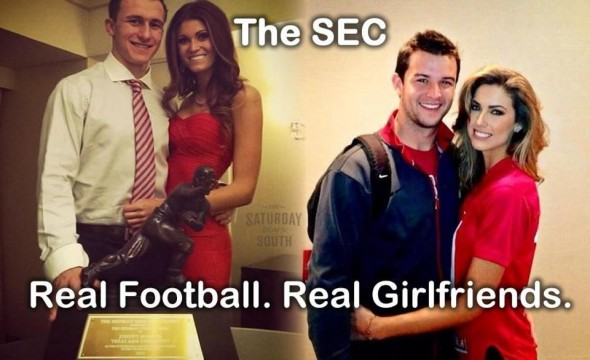 Real Football. Real Girlfriends. TFM.
