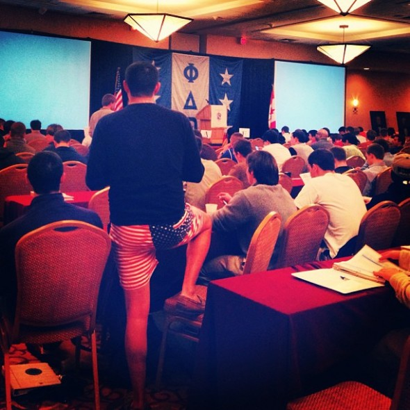 This guy at the national conference. TFM.