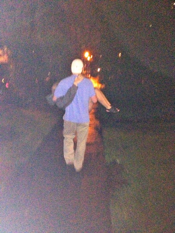Carrying my best friend and pledge brother's girlfriend home on her 21st. Chivalry. TFM.