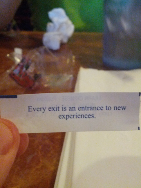 """But babe, it's my fortune."" TFM."