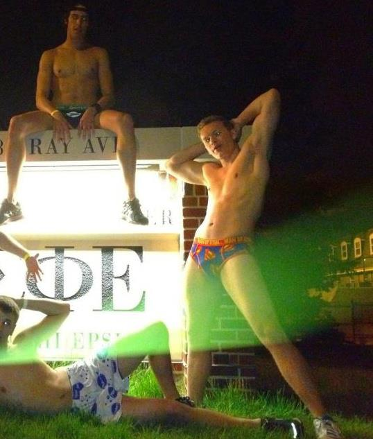 Freedos (Frat Speedos) are apparently making a comeback.