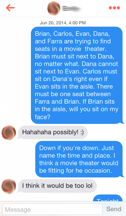 Total Frat Move 21 Ridiculous Tinder Pickup Lines
