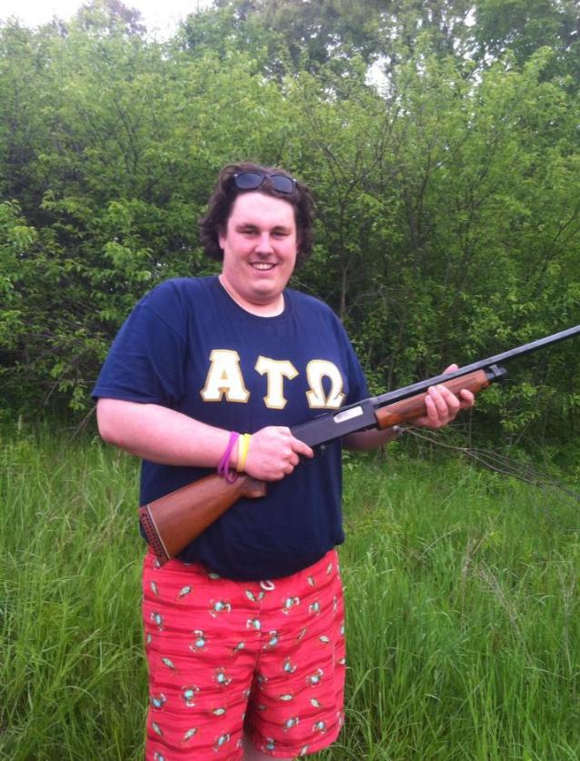 """Wanna shoot my BB gun with me?"" *farts, burps*"