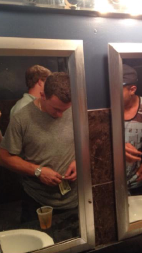 Manziel Getting Down
