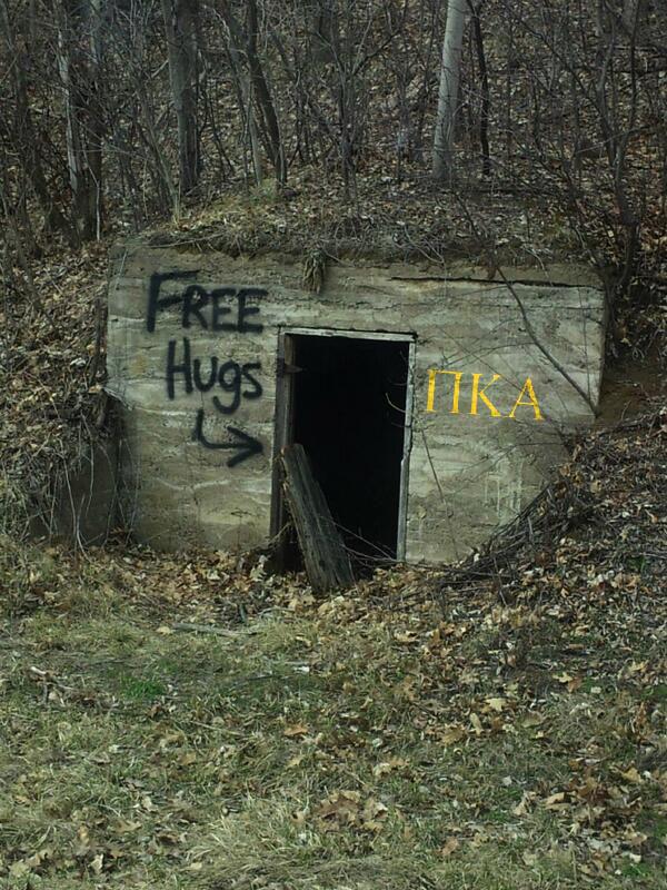 Mmmmmm free hugs.