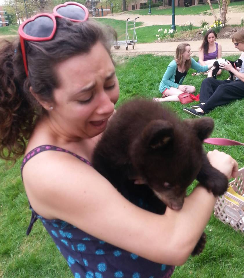 Yeah uhhhh bears bite.