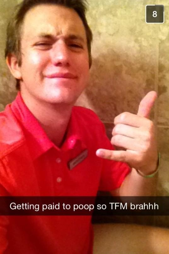Shitting for cash. TFM.